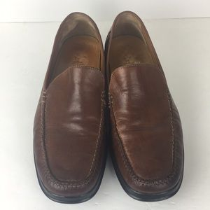 Cole Haan Nike Air Brown Leather Loafers 11